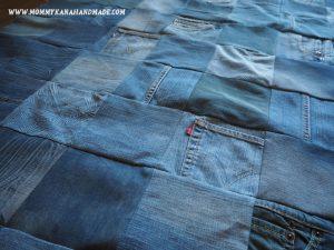 捨てられないジーンズたちをリメイク。