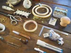 お気に入りの裁縫道具・材料たちを紹介します。