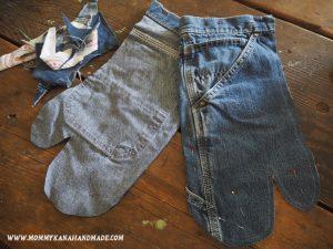 見た目も可愛いジーンズのアップサイクル