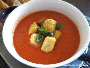 絶品トマトクリームスープを再現!