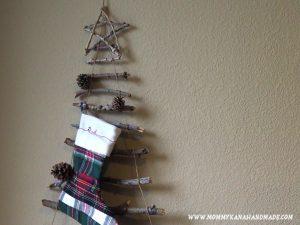 あっという間に作れる!ウォール・クリスマスツリー